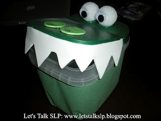 Learn how to make your own alligator craft from Let's Talk Speech-Language Pathology.