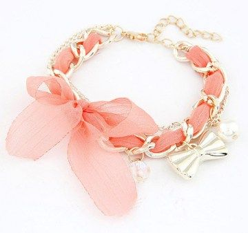 Cute lace bowknot chain