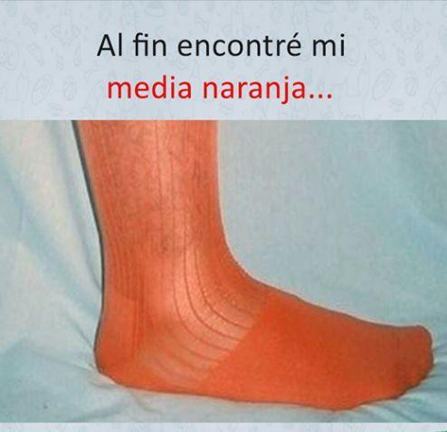 Imagen media naranja en álbum memes en español #humor #chistes #risas #risasin…