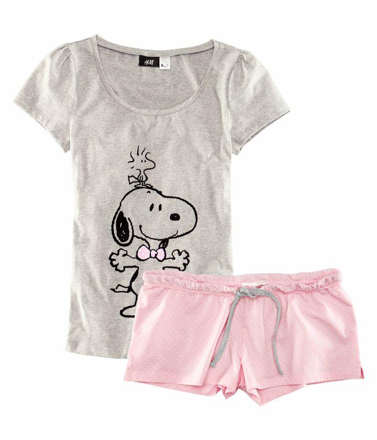 H&M snoopy pajamas