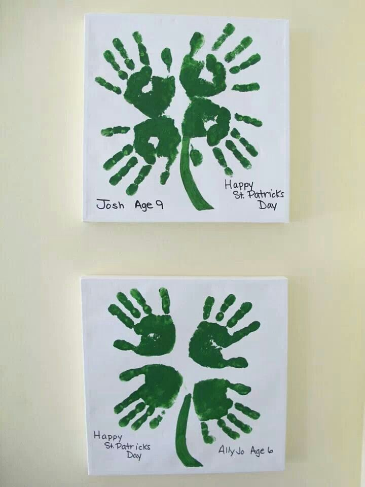 St patricks day art for kids