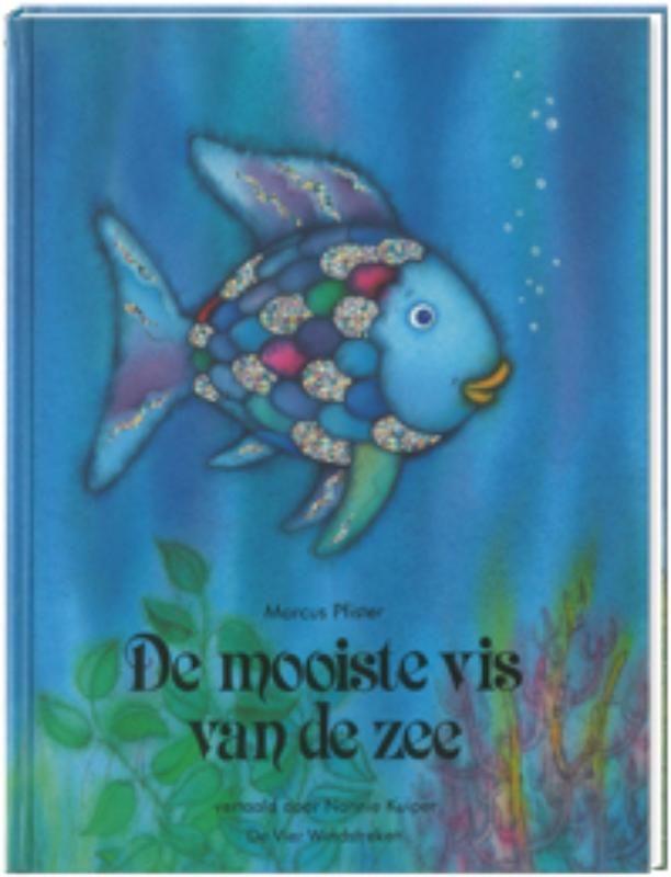 Regenboog is de mooiste vis in de zee. Maar hij is trots en ijdel, en daardoor heeft hij geen enkele vriend. Pas als hij een van zijn mooie schubben weggeeft - en later nog meer - vinden ze hem aardig en merkt hij dat het belangrijker is om vrienden te hebben dan om de mooiste te zijn!