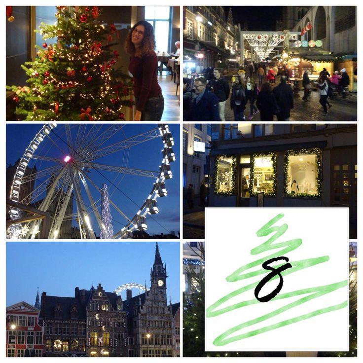 De kerstboom wordt steeds voller. Gelukkig maar, want kerst komt steeds dichterbij. Waar ik ook ontzettend veel zin in heb is onze minivakantie naar Gent.