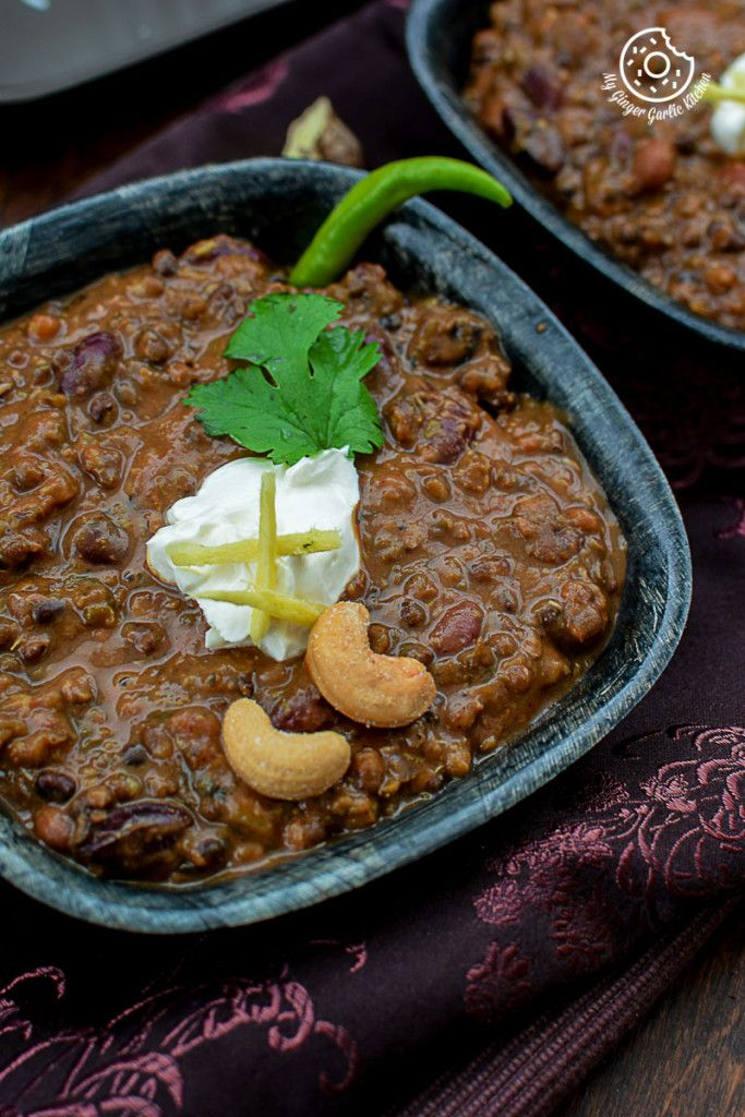 3-Bean Thick Dal Makhani