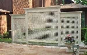 Lattice wall idea