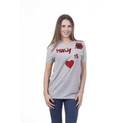 Dolce & Gabbana Womens T-Shirt F8H22Z FU7AI S8290