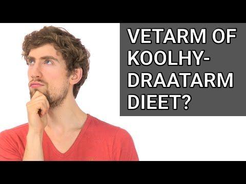 Wat is Beter: een Vetarm of Koolhydraatarm Dieet? - YouTube