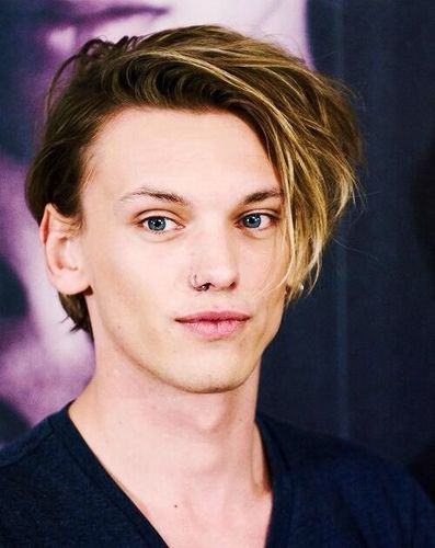 Jamie Campbell Bower with a nose ring. Thinking of getting one myself.