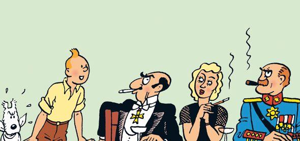 Roberto Rastapopoulos - Tintin in America