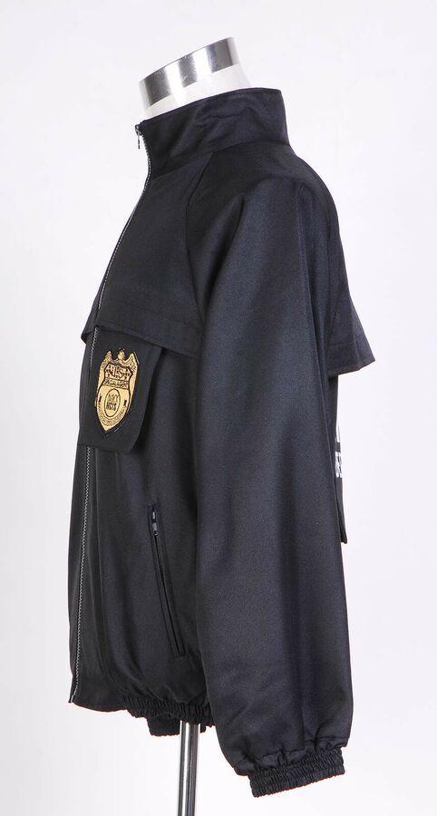 NCIS Staff Black Jacket Uniform Costume Cosplay Halloween