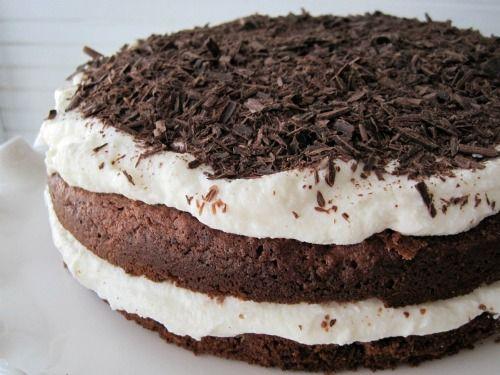 Grain-Free Chocolate Cake with Honeyed Ricotta
