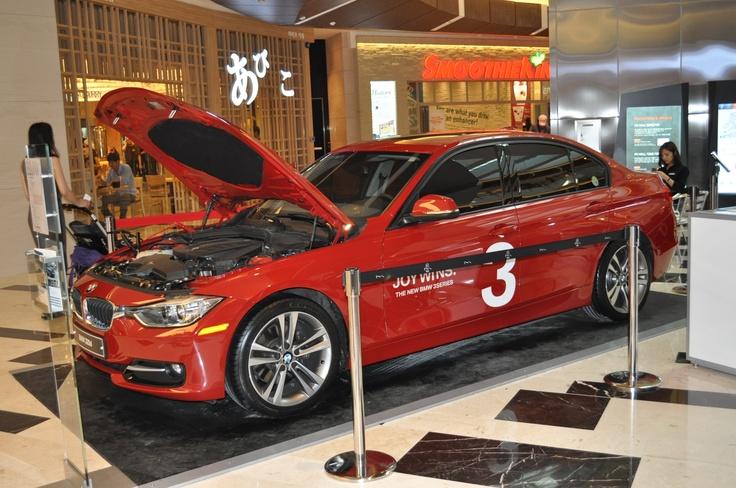 BMW 320D sport line in IFC Mall