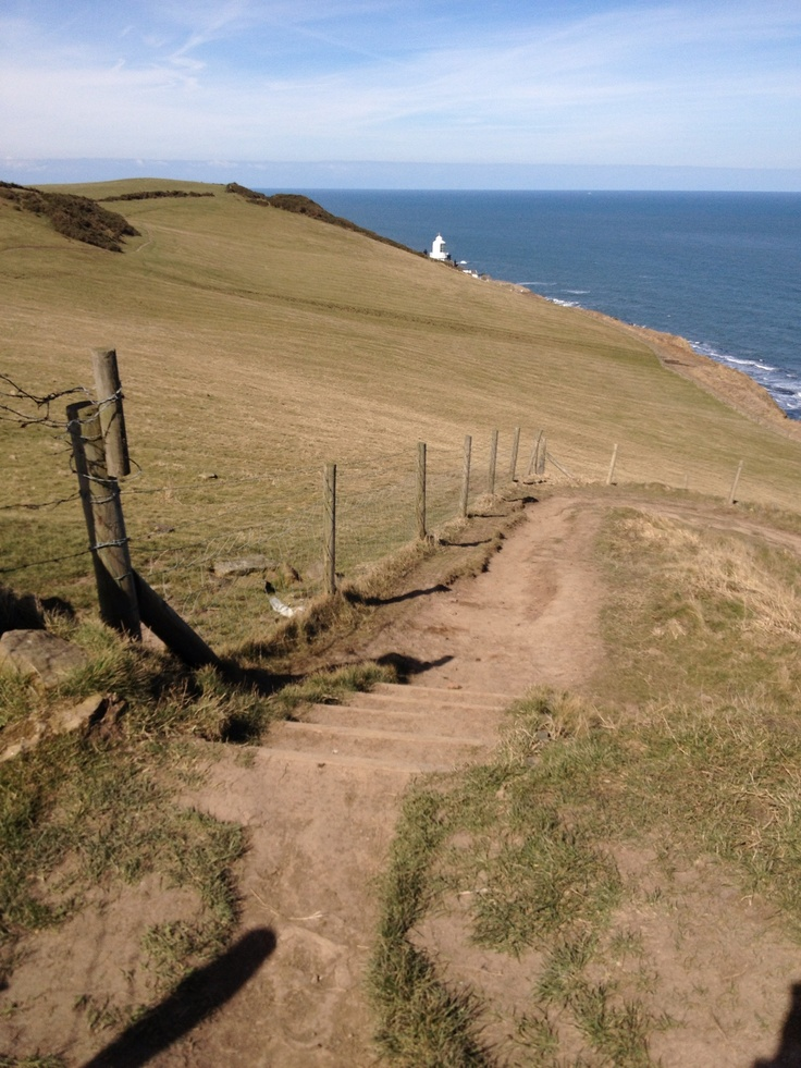 Cleveland Way between Whitby and Robin Hoods Bay. | Places | Pinterest