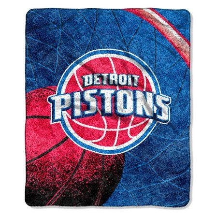 Detroit Pistons NBA Sherpa ThrowBy BlueTECH >>> More info could be found at the image url.