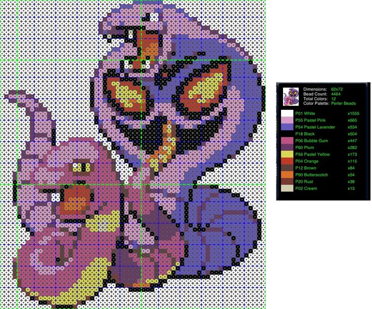 Pokemon Perler Bead Pattern Ekans And Arbok By Ladyjirachi Deviantart Com On Deviantart