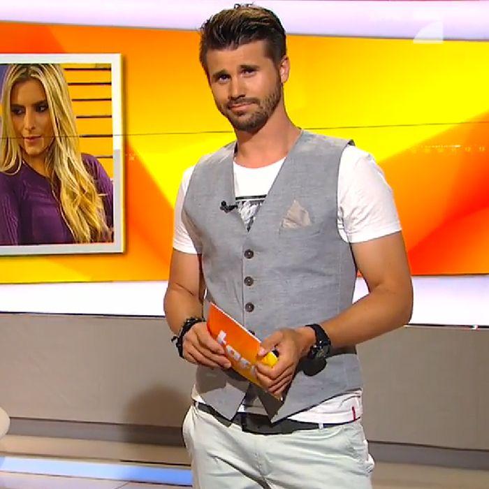 ProSieben TV Moderator Thore Schölermann in einer Doppelreiher Herren Weste von DORNSCHILD. #dornschild #herrenwesten #herrenweste #westen #weste #herrenmode #thevestbrand #waistcoat #vest #menstyle #menfashion #thoreschölermann