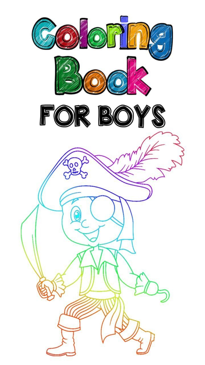 Coloring Books For Boys Coloring Book For Boys For Android Apk Download In 2020 Printable Coloring Book Coloring Books Coloring Pages For Teenagers