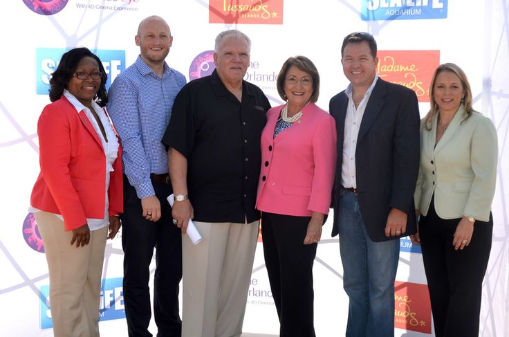 """""""Mayor Teresa Jacobs Joins Merlin Entertainments in Unveiling Major Expansion Plans in Orlando."""""""