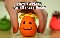 DIY Antistress Ball - How To Make Anti Stress Balls A stress ball is a malleable toy, usually not mo