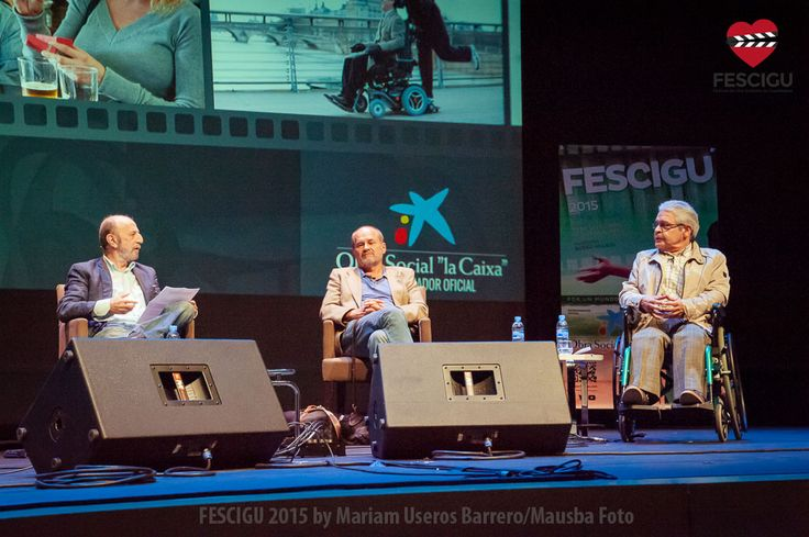 Coloquio sobre Cine y Discapacidad. Jornada inaugural del XIII Festival de Cine Solidario de Guadalajara. Fecha: 29/09/2013. Fotos: Mariam Useros Barrero/Mausba Foto