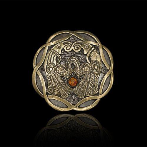 odinsight:        Viking brooch 3 by ~Peixeart