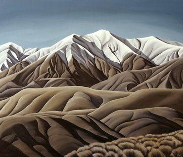 Diana Adams NZ Artist - Distant Valleys
