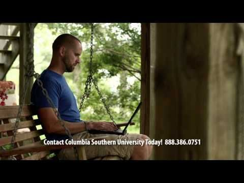 Earn Your Degree Anytime Anywhere from Columbia Southern University