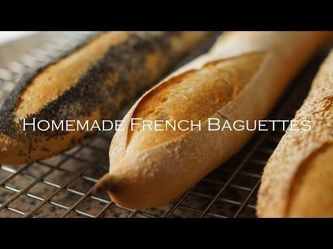 Easy Homemade French Baguettes