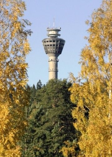Puijo tower, Kuopio Finland...I lived in Finland for a year...I could see this tower as I took the bus into town