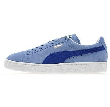 Blue puma suede- i actually have these