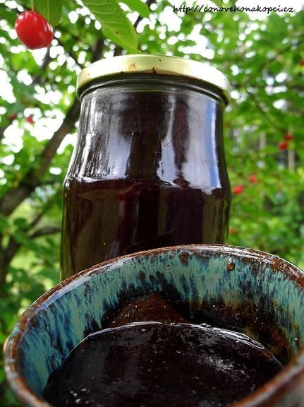 Třešňový džem bez přidaného pektogelu
