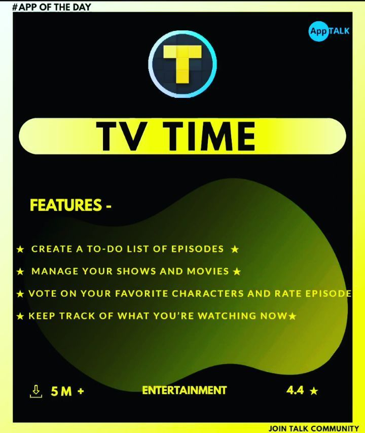 Tvtimeapp The Best App Review By Apptalk