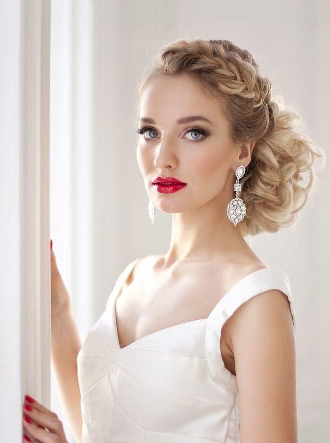Fabulous Wedding  Hairstyles  From Elstile Real Wedding