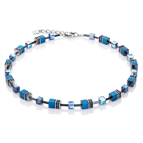 A beautiful Coeur de Lion (Winner of Jewellery brand of the Year 2015) blue hematite necklace is available from authorised stockist Jools. £119 with gift box and free UK delivery. http://joolsjewellery.co.uk/shop/coeur-de-lion-blue-hematite-necklace/