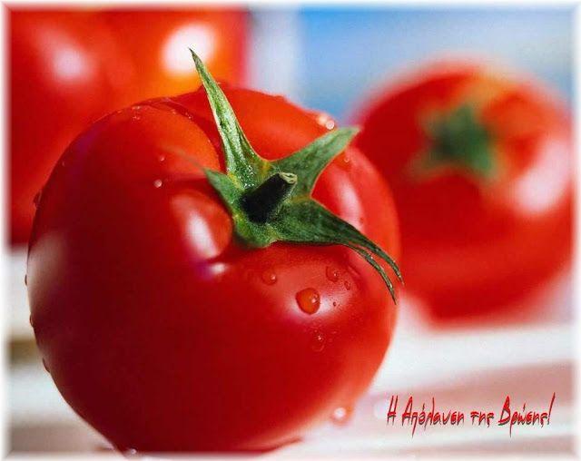 Η απόλαυση της βρώσης ~ Ας μαγειρέψουμε: Συμβουλή της ημέρας: Η ντομάτα σαν…