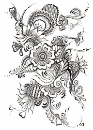 art nouveau coloring pages for adults | coloring pages?clipart?embrodiery?