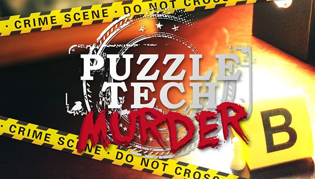 """Good Morning all Puzzlers in BriVegas! Feeling a bit stuck in G20 this weekend? Come for a game in our famous """"Puzzle Tech Murder""""! Book here at www.puzzledroomescape.com.au"""