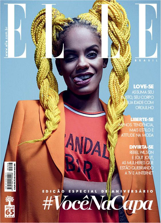 Mag 193 Moura Jumbo Hair Amarelo Pinteres