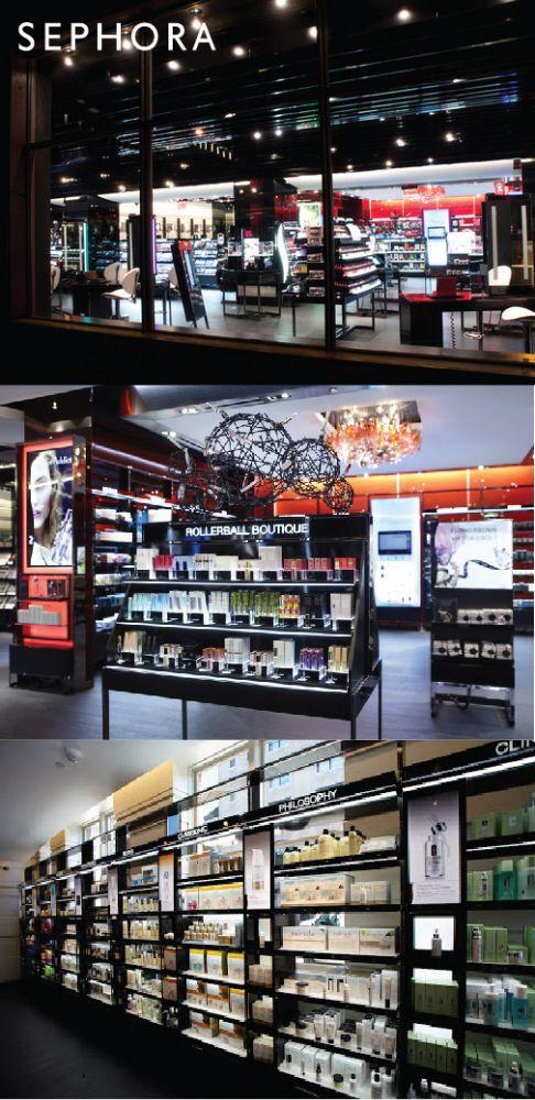 Sephora Retail Fixtures // New Design Language by Alexis Eizinas at Coroflot.com