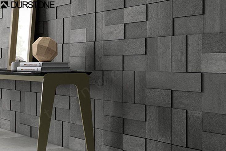 Durstone Villa Ibiza Black Modul 3D