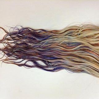 Então você acha que os cabeleireiros vão adotar essa nova técnica de pintura? | Esta nova técnica de tingimento pode te ajudar a conseguir um cabelo de sereia