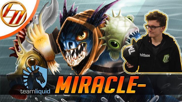 Miracle → Slark ♦ Dota 2 Pro Gameplay | Team Liquid
