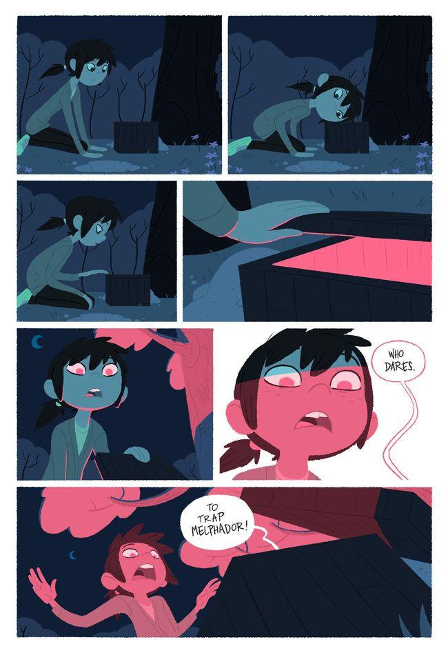 "Comic page ""Explorer"" by ~radsechrist on deviantART"