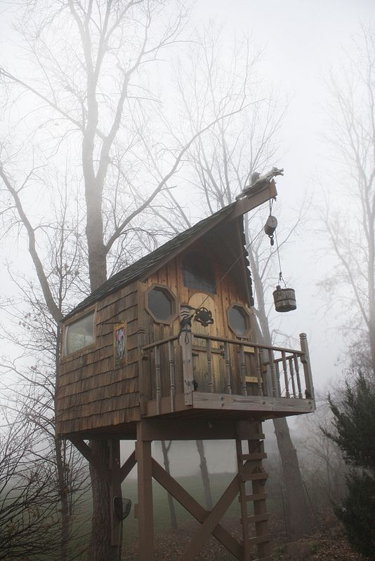 Awesome Treehouse / The Green Life <3