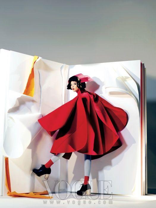 P.S. Korea: Paper Doll, Vogue Korea August 2012