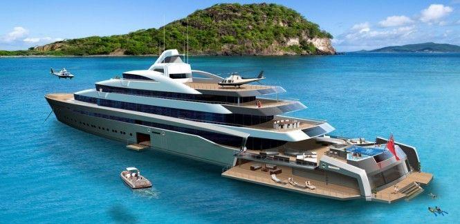 The 120m Tony Castro Superyacht Concept