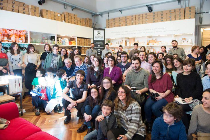 #MagazziniOz #Torino #AstroSamantha #SamanthaCristoforetti #Passaggi