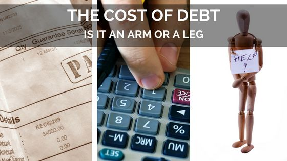 Is you debt costing you an arm or a leg? What is the Maximum Interest rate creditors may charge?