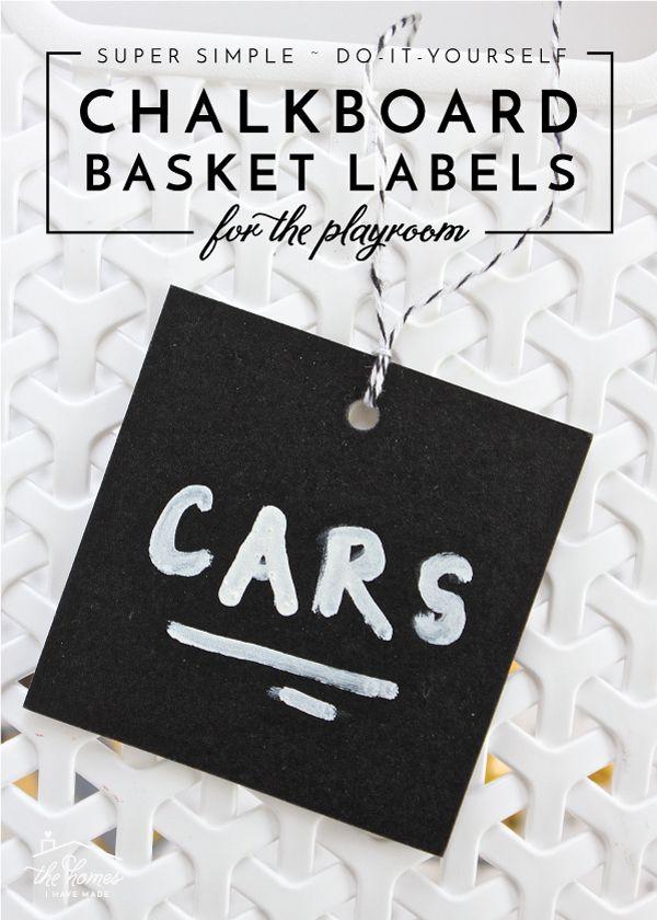 45 best diy labels images on pinterest creative ideas for Diy chalk labels