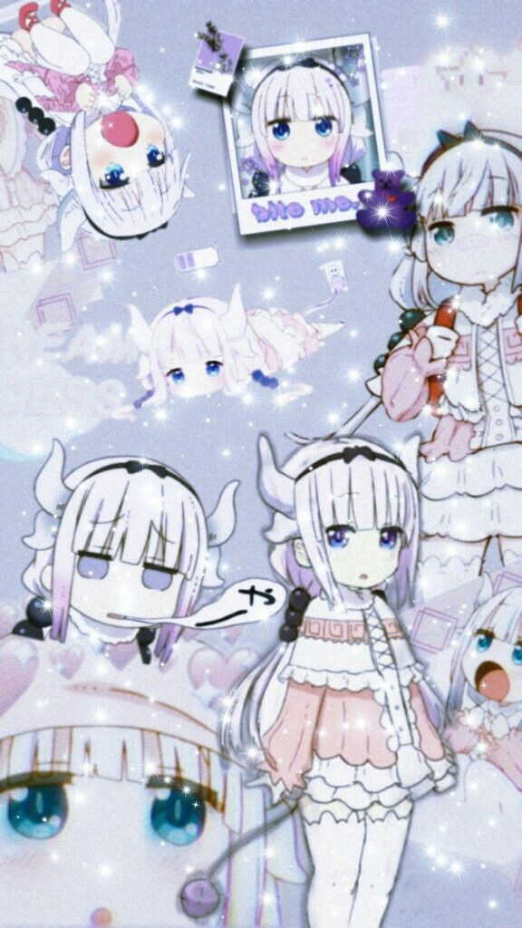 Kanna Kamui Wallpaper Cute Anime Wallpaper Anime Wallpaper Phone Anime Wallpaper